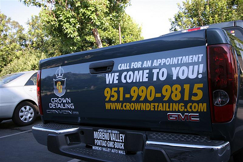 Crown Detailing Tailgate Graphics