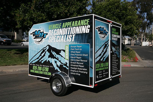 MBT Mobile Body Tech Auto Detailing Trailer