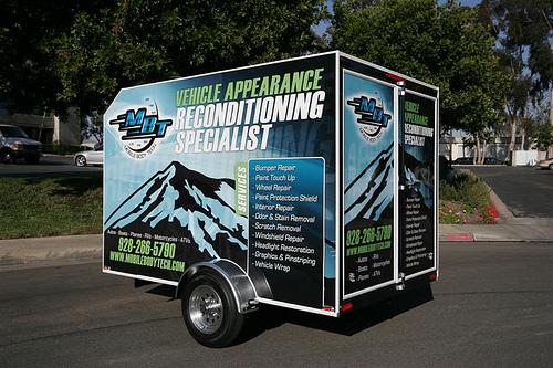 MBT Mobile Body Tech Auto Detailing Trailer