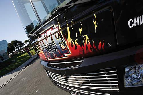 Gene Simmons RV Vehicle Wrap Grille