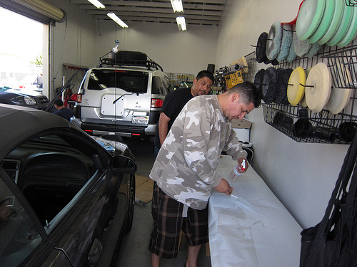 Paint Protection Clear Bra Installation 6