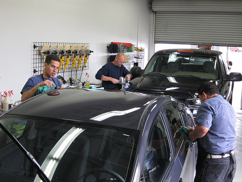 April Auto Detailing Training Class