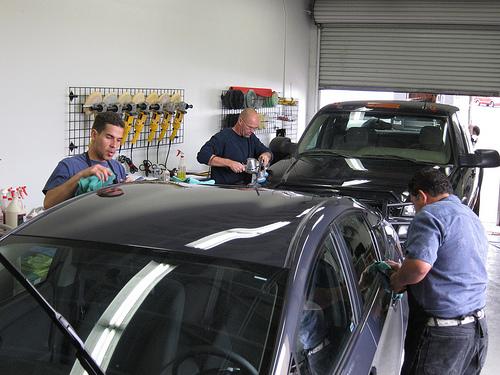 April Auto Detailing Training Class