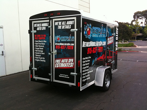 details mobile auto spa automotive appearance training and equipment. Black Bedroom Furniture Sets. Home Design Ideas