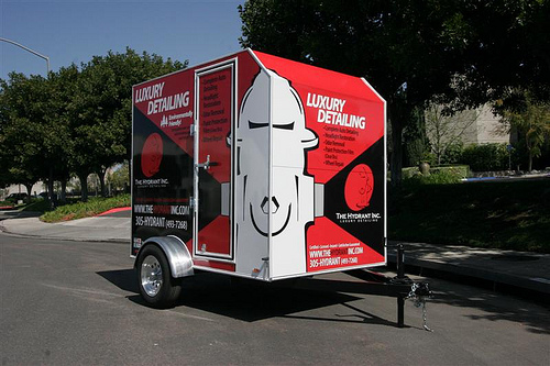 The Hydrant Inc. Auto Detailing Trailer By Rightlook.com