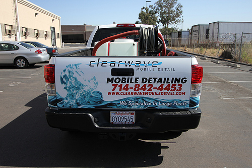 Clearwave Mobile Auto Detaling - Skid Mount and Partial Wrap 3