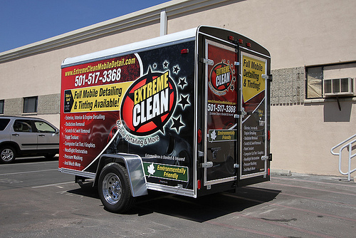 Extreme Clean Mobile Auto Detailing Trailer Business 2