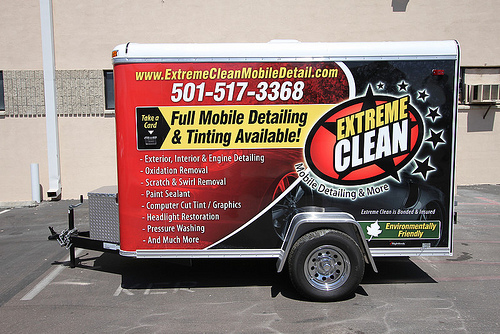 Extreme Clean Mobile Auto Detailing Trailer Business 1