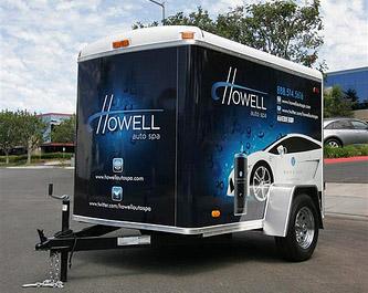Rightlook Howell Detailing Trailer
