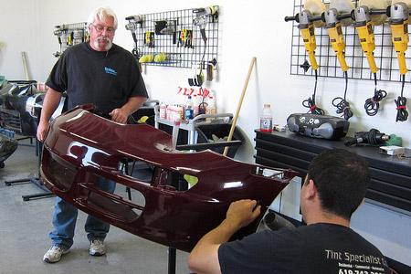 Rightlook Bumper Repair Training