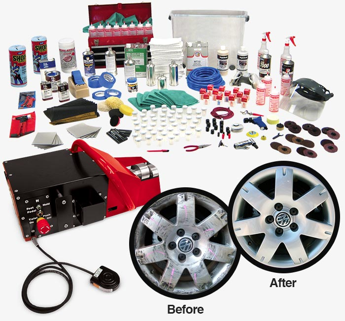 Rightlook Wheel Repair Package