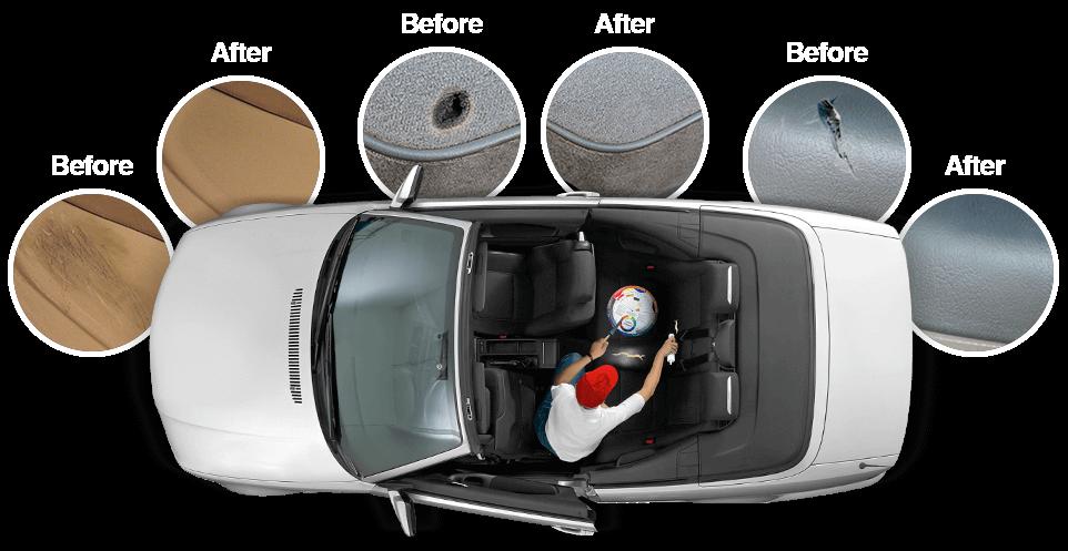 Interior Repair Training Car Interior Repair Car Leather Repair