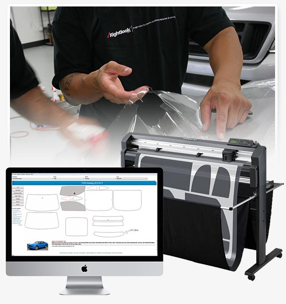 Rightlook Computer-Cut Paint Protection Film Training