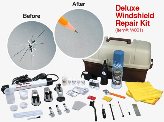 Rightlook Windshield Repair Package