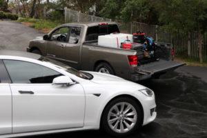 Rightlook Deluxe Detailing Skid Mount and Tesla