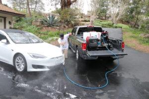 Rightlook Deluxe Detailing Skid Mount Pressure Washing Tesla