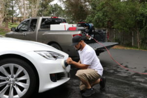 Rightlook Deluxe Detailing Skid Mount Polishing Car