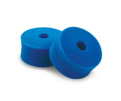Cyclo Polisher Double Sided Blue Foam Pads - Fine Polishing (Set of 2 Pads)