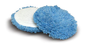 Cyclo Wool Cutting Pads - Blue - Light Cutting (Set of 2 Pads)