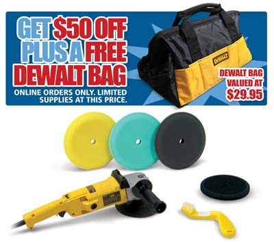 Standard Dewalt Buffer Kit