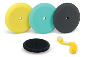 Standard Buffing Pad Kit for Dewalt Polisher or Makita Polisher