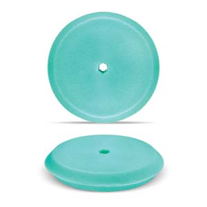 "Green 8"" Double-Sided Foam Buffing Pad - Light Cutting"
