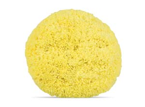 Wool Buffing Pad for Mild Cutting – Yellow