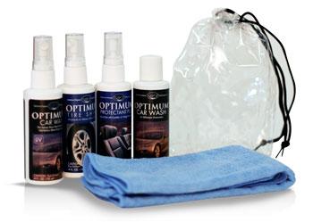 Optimum Car Care Sample/Travel Kit
