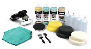 Porter Cable Polisher 7424 Deluxe Kit - Car Buffer Kit