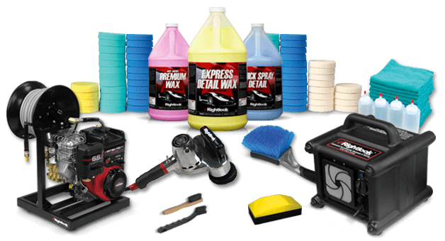 Rightlook Auto Detailing Supplies Equipment Hero