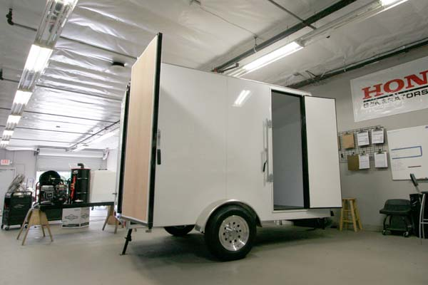 Rightlook Auto Detailing Trailer Skids 4