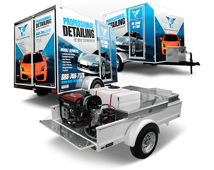 Rightlook Auto Detailing Trailers Hero