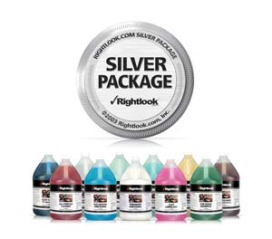 Rightlook Silver Auto Detail Chemical Package