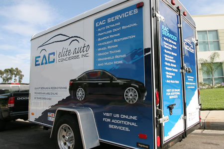 Rightlook Detailing Trailer Wrap Graphics 1