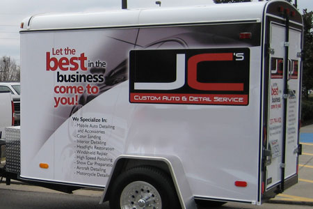 Rightlook Detailing Trailer Wrap Graphics 2