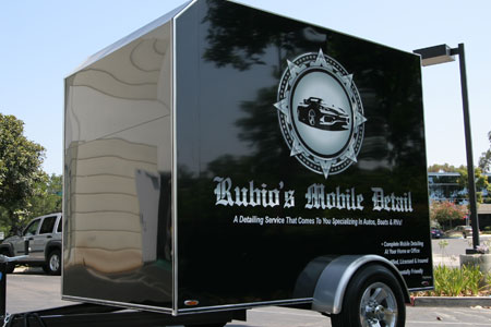 Rightlook Detailing Trailer Wrap Graphics 6