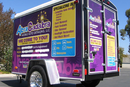 Rightlook Detailing Trailer Wrap Graphics 8