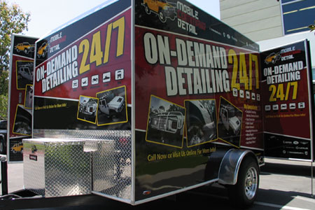 Rightlook Detailing Trailer Wrap Graphics 9