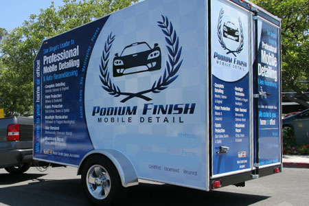 Rightlook Detailing Trailer Wrap Graphics 10