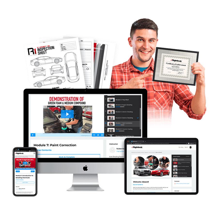 Online Advanced Auto Detailing Training