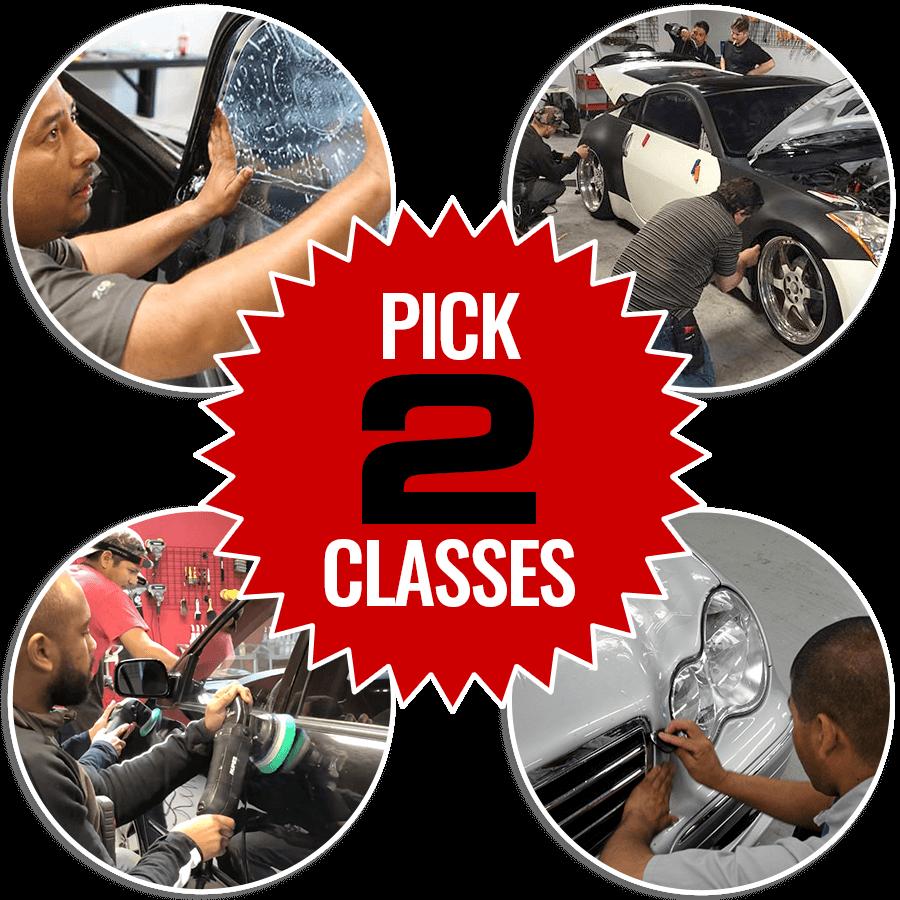 Pick 2 Training Class Package Bundle
